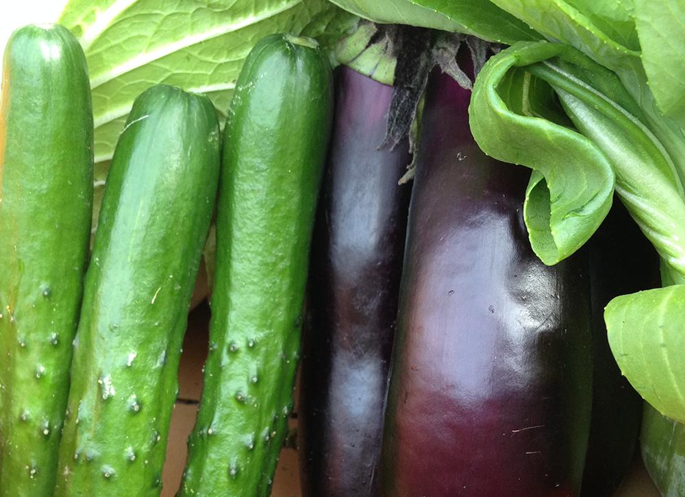 佐々木商店の野菜