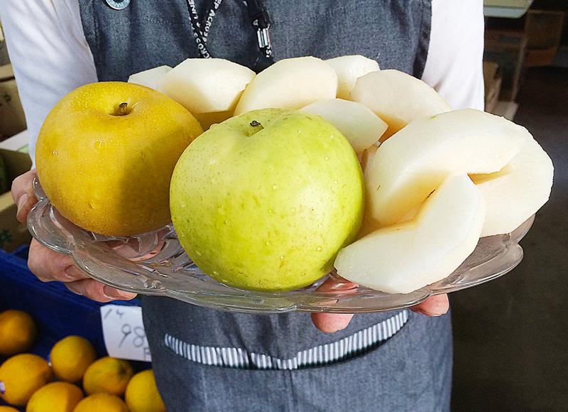 梨の種類が豊富