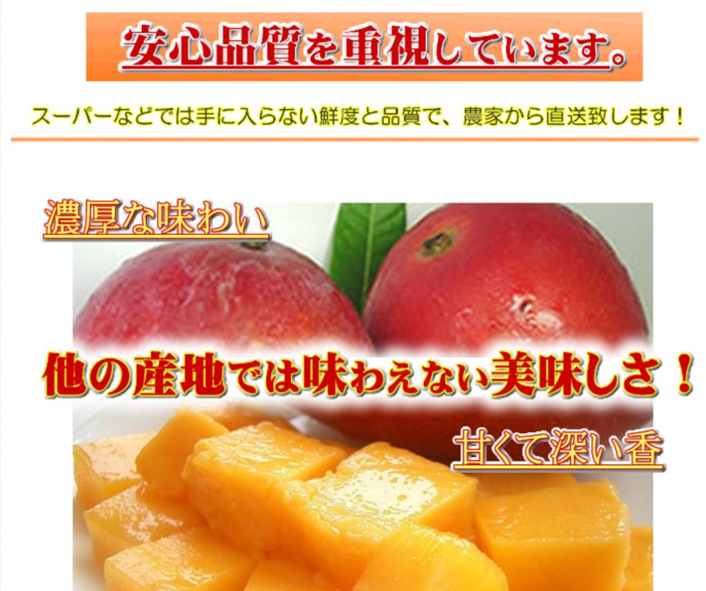 完熟マンゴー通販さん縦長商品ページ