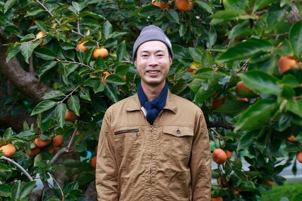 静岡の柿農家さんも