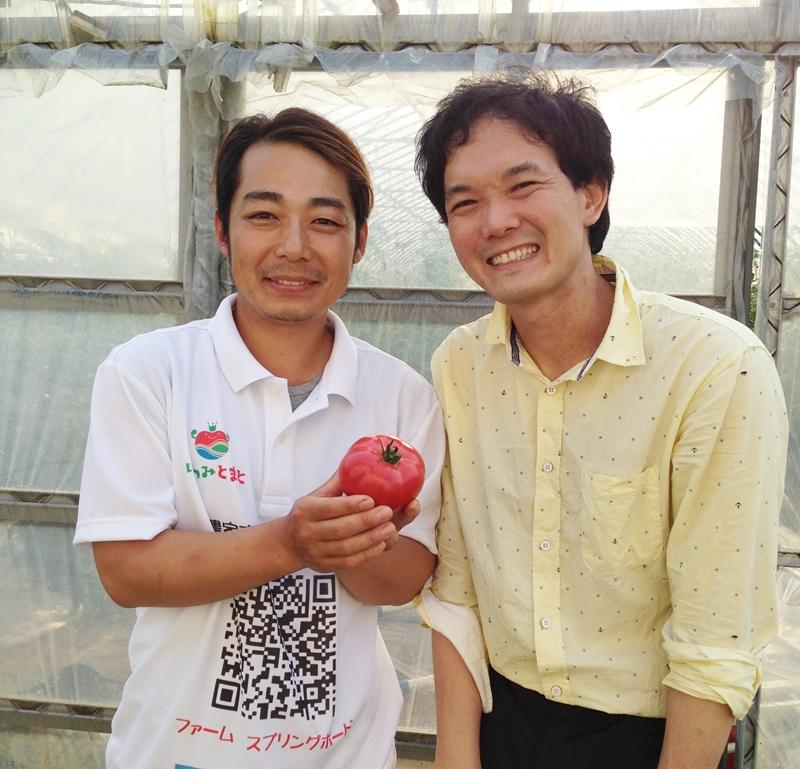 farm Springboardの川西さんと高口