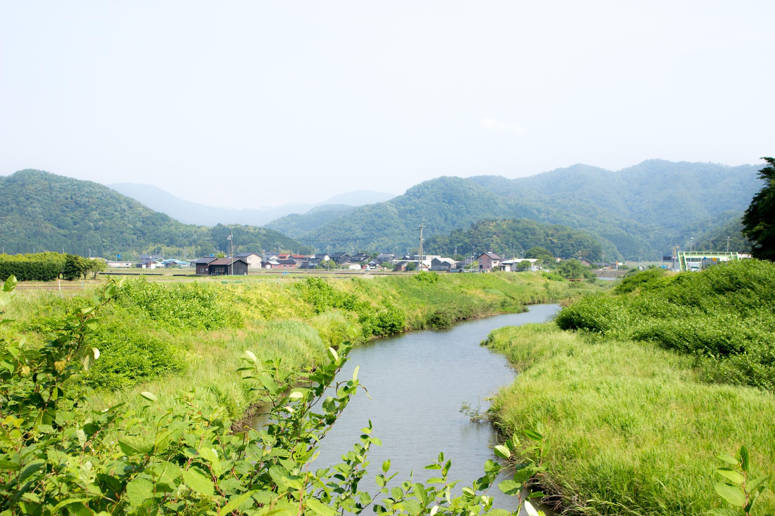 鳥取県岩美町の風景