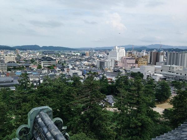 松江の城下町